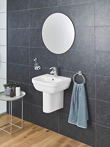 Grohe Eurosmart Waschtischarmatur, mit Zugstange, S-Size, Wasserhahn, Armatur, Waschtischarmatur, Waschbecken, Mischbatterie, Wasserkran (33265002) - 10