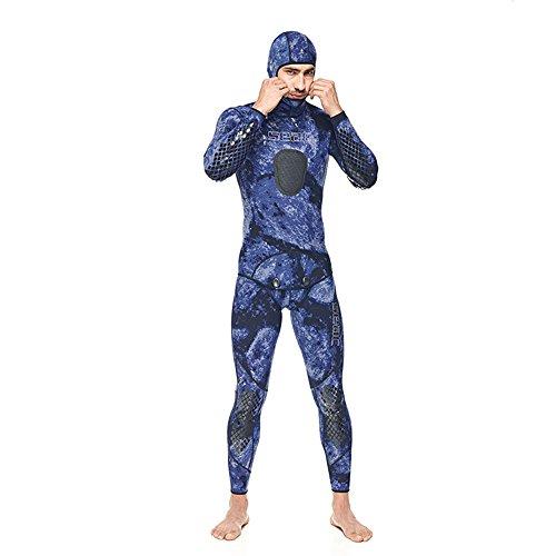 SEAC Makaira Traje para Apnea y Pesca Submarina, Unisex Adulto, Azul, XXXL
