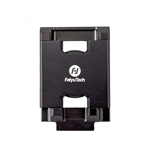 Lorenlli Para Soporte de teléfono móvil Feiyu Soporte de Montaje Adaptador de Clip para Feiyu G6 Plus Cámara de acción Soporte de Abrazadera de cardán para iPhone X