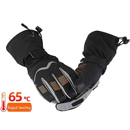 QHGao Tocca I Thermostatische handschoenen houden de warmte op koude sneeuw, verwarmingssysteem met vijf Dita warmte, waterdichte tas, warme handen in de winter, voor verlichting van artritis.