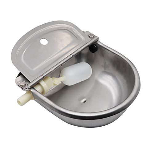 Tränkebecken mit Schwimmer, Pferdetränke Tränkebecken Mit Schwimmerventil, Wassergerät der Schüssel für Hunde
