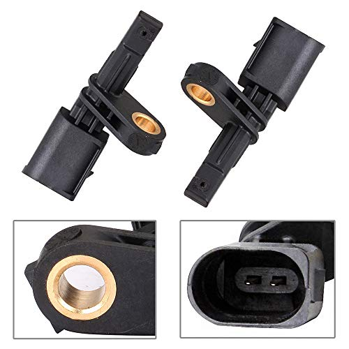 ECCPP Front Left Right ABS Wheel Speed Sensors Compatible with 2006-2013 Audi A3,2008-2011 Audi TT,2004-2005 Porsche Carrera GT,Vw Beetle Golf City GTI Jetta Bora CC Eos ALS430 ALS467 Set of 2