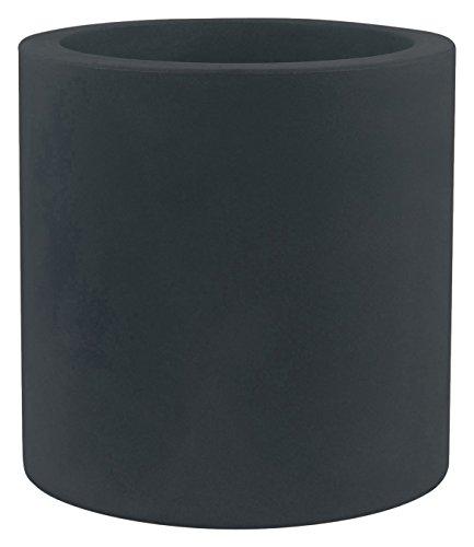 Vondom 40330 - Cilindro simple con diámetro de 30 x 30 cm, color antracita