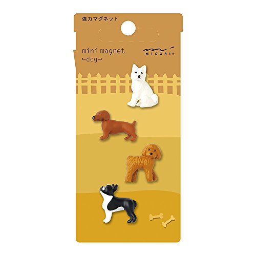 Midori Mini Magnet, Dogs (49753006)