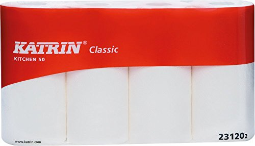 Katrin 231202 Küchenrollen Classic 50 Plus, 4 Prägung