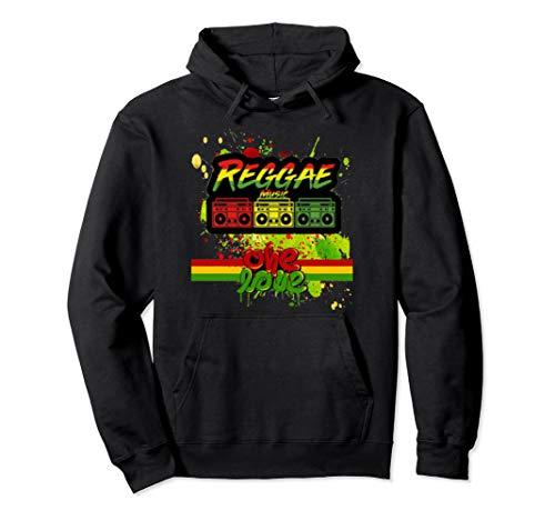 Reggae Rasta One Love T-shirt Tee Tshirt Jamaica Nice Gift Pullover Hoodie