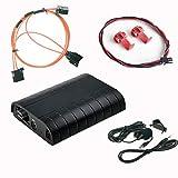 DJC Bluetooth A2DP manos libres USB SD AUX, kit de adaptador coche de coche para Audi A4 A5 A6 Q7 MMI 2G High/Basic