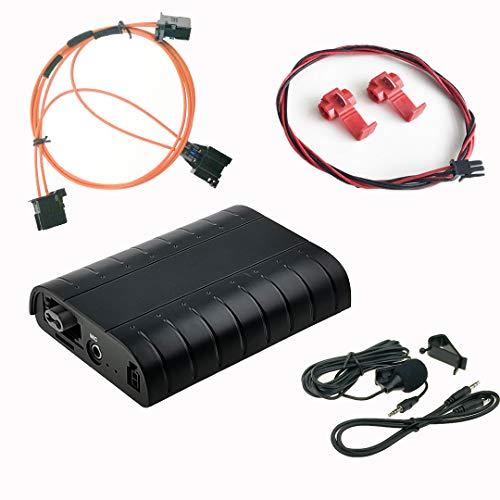 DJC Bluetooth A2DP manos libres USB SD AUX, kit de adaptador coche...