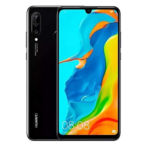 "HUAWEI P30 Lite (128GB, 4GB RAM,Black)6.15"" Display, AI Triple Camera, Dual SIM Global GSM Factory , Black Unlocked"