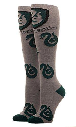 Harry Potter Slytherin Juniors Knee High Socks