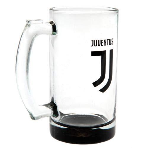 Juventus F.C. Stein Glaskrug Offizielles Merchandise-Produkt
