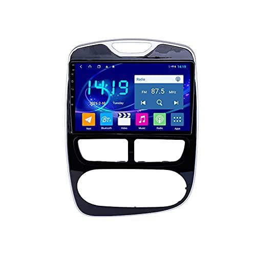 Android 10.0 Radio Stereo per Clio 2012-2016 Navigazione GPS Touchscreen da 9 pollici Lettore multimediale MP5 Ricevitore video con 4G WiFi SWC Carplay