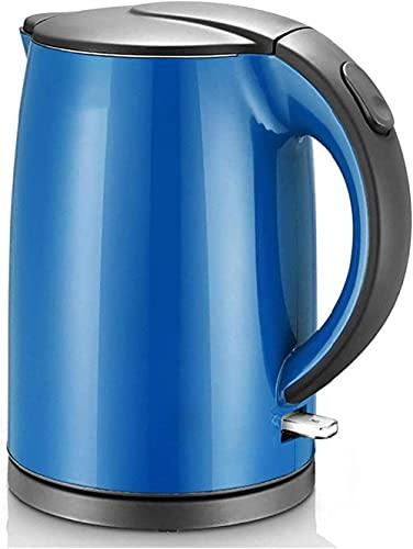 Waterkoker, Roestvrijstalen elektrische waterkoker, 1 5L 1500-2000W snel kokende ketel, automatische shutdown zonder BPA, anti-droogfunctie, energiebesparing en warmte