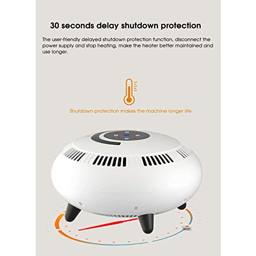 412my2nSTwL. SS500  - UNiiyi 360° Portable Electric Space Heater with Remote Control 2000W Personal Desk Fan Heater Quick Heat-up Overheat…