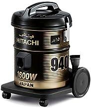 مكنسة كهربائية بسعة 15 لتر من هيتاشي، لون اسود، CV940Y-SS220-BK