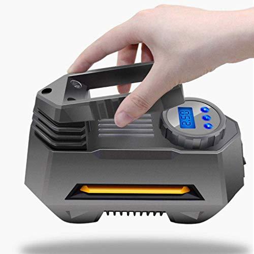 XYSQWZ Inflador De NeumáTicos De Coche Compresores PortáTiles PortáTiles para Coches Mini Bomba EléCtrica 12V 120W 27L / Min con 150 PSI Led LCD Apagado AutomáTico Cuyrhtzy5.1