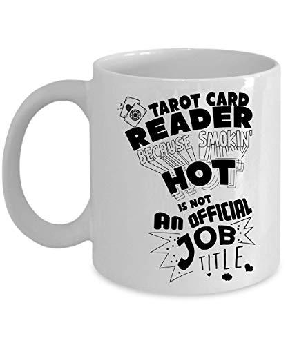 Sp567encer Tarot-kaartlezer, omdat Smokin Hot geen officiële beroepsaanduiding is. Astrologie-beker geloofsschaal-astrologie-geschenk voor tarotkaartlezer