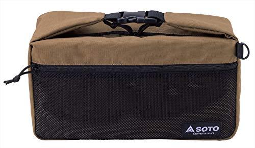 ソト(SOTO) ミニマルバッグ ST-3109 ベージュ 本体サイズ:幅36×奥行12×高さ20cm