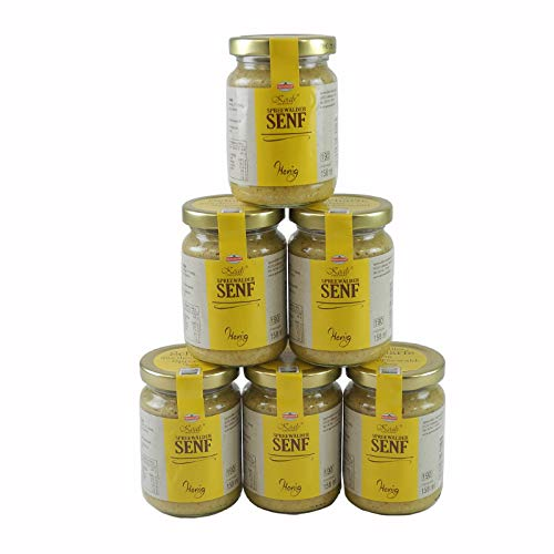 Koals Spreewälder Honigsenf 6er Set (6 Gläser à 158 ml)