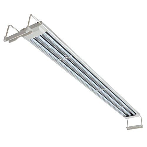Nishore Lámpara LED para Acuario Aluminio IP67 120-130 cm