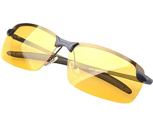 TININNA Night Vision Anti-Blend Nachtsichtbrille Nachtfahrbrille Kontrastbrille EINWEG Verpackung