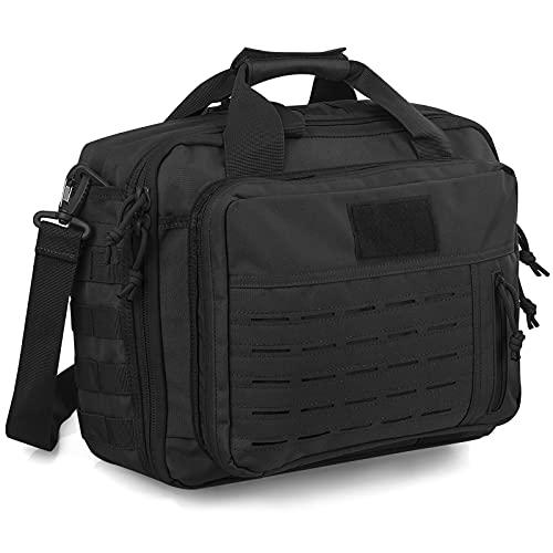 SEALANTIC Tactical Gun Range Bag, Professional Pistol...