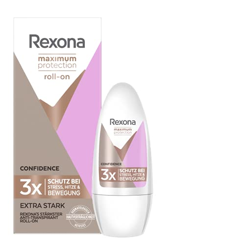Rexona Women Roll-On Maximum Protection Confidence Anti Transpirant, 50 ml
