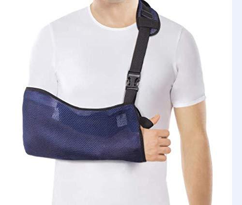 Cabestrillo de brazo; malla transpirable; ligero Medium Azul