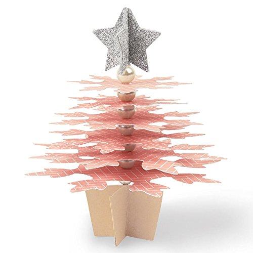 Sizzix Bigz Schablone 662869, Schneeflocke Weihnachtsbaum, eine Größe