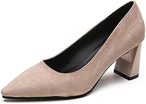 Xue Qiqi Fashion wohomme chaussures vocational high-heeled chaussures avec le bout de l'audacieux et élégant