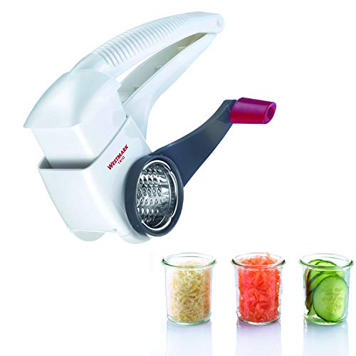 Westmark Trio Rotary Grater White