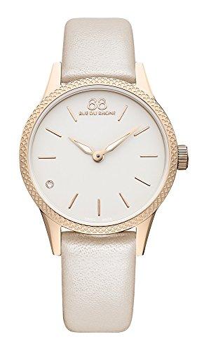 88Rue Du Rhone cuarzo Rive Collection Reloj de pulsera de mujer 87wa173203