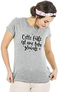 Ma petite tribu Tshirt Tshirt DE LA Meilleure Grande S/ŒUR Produit imprim/é dans Notre Atelier /à Toulouse