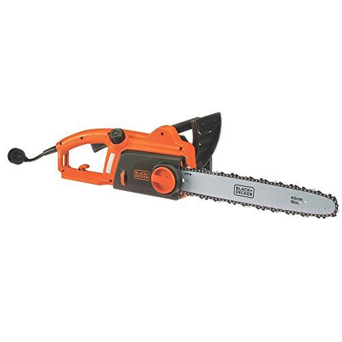 BLACK+DECKER Electric Chainsaw, 16-Inch, 12-Amp (CS1216)