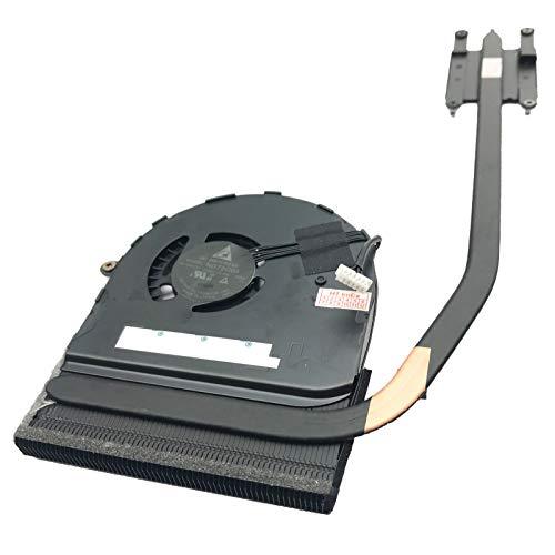 (Version 1) Lüfter Kühler Fan Cooler mit Kühlkörper kompatibel für Lenovo ThinkPad P50s, Thinkpad T550 (20CK), ThinkPad T560, ThinkPad T560 (20FH), ThinkPad T560 (20FJ), ThinkPad T570, Thinkpad T550
