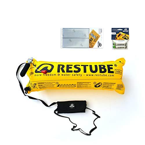 Restube Beach Starter Package Boya de natación, Unisex Adulto, Jet Blue, Small