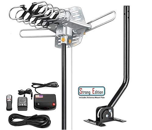 Vilso TV Antenna Outdoor Amplified - Motorized 360 Degree Rotation -...