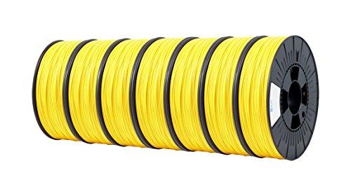 ICE FILAMENTS ICE7VALP181 PLA Filament 2,85 mm 0,75 kg Jaune Young (lot de 7)
