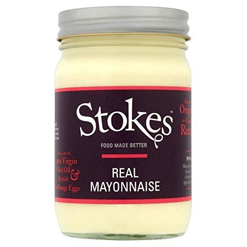 Stokes Réel Mayonnaise À L'Huile D'Olive Extra Vierge (345G)