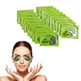 Seaweed Eye Mask, 40Pcs Seaweed Gel Eye Collagen Patches Eye Treatment Mask,Collagen Anti-Wrinkle Pads,Moisturizing,Helps Reduce Dark Circles,Fine Lines and Wrinkles,Tightening Skin