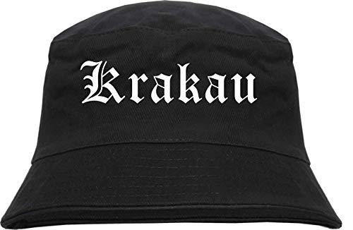 sostex Krakau kapelusz wędkarski - staroniemiecki - z nadrukiem - Bucket Hat kapelusz wędkarski kapelusz