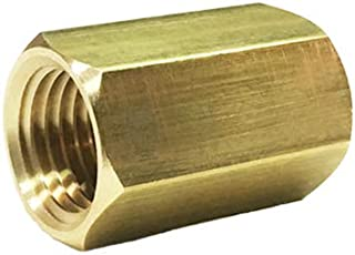 NIGO Forged Brass Pipe Fitting, Coupling (3, 1/4