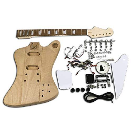 DIY-Gitarren-Set, Firebird, Chrom, Mahagoni