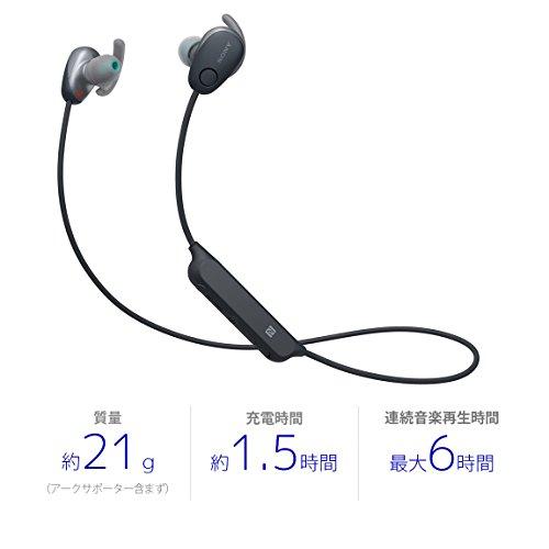 ソニー『ワイヤレスノイズキャンセリングステレオヘッドセット(WI-SP600N)』