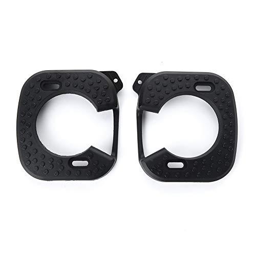 1 Paire Protect résistant à la Chaleur autobloquant Crampons Covers Vélo de Course Quick Release Poids léger/Fit for SpeedPlay zéro (Color : Black)