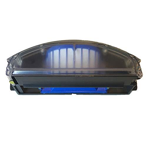 ADUCI 1 Juego de reemplazo de Piezas del Compartimiento de Polvo Recogida de Polvo Caja Gris Compatible for el iRobot Roomba 500 Serie 600 for aspiradoras de Polvo Reposición
