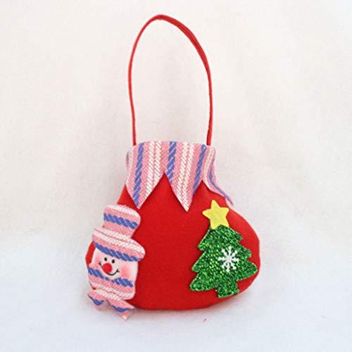 LLKK Bolsa de Dulces navideños,Bolsitas de Regalo Navidad,De Moda y Lindo,Adecuado niños