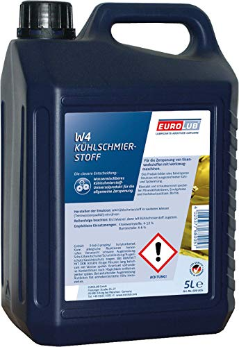 EUROLUB 680005 W4 Kühlschmierstoff, 5 Liter