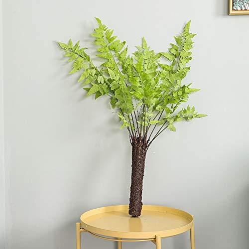 wawale Kunstplanten Vloer Pottenboom Kunstmatige Kunststof Plant Perzisch Gras Lysimachia Varen Thuis Decoratieve Nep Planten Binnen Decoratie 90cm