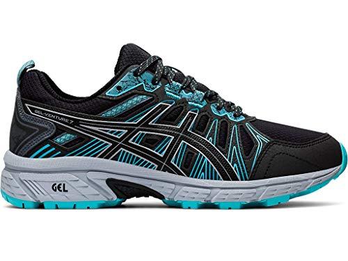 Asics Gel-Venture 7 - Zapatillas de correr para mujer, Gris (Gris grafito/ Negro ), 38.5 EU